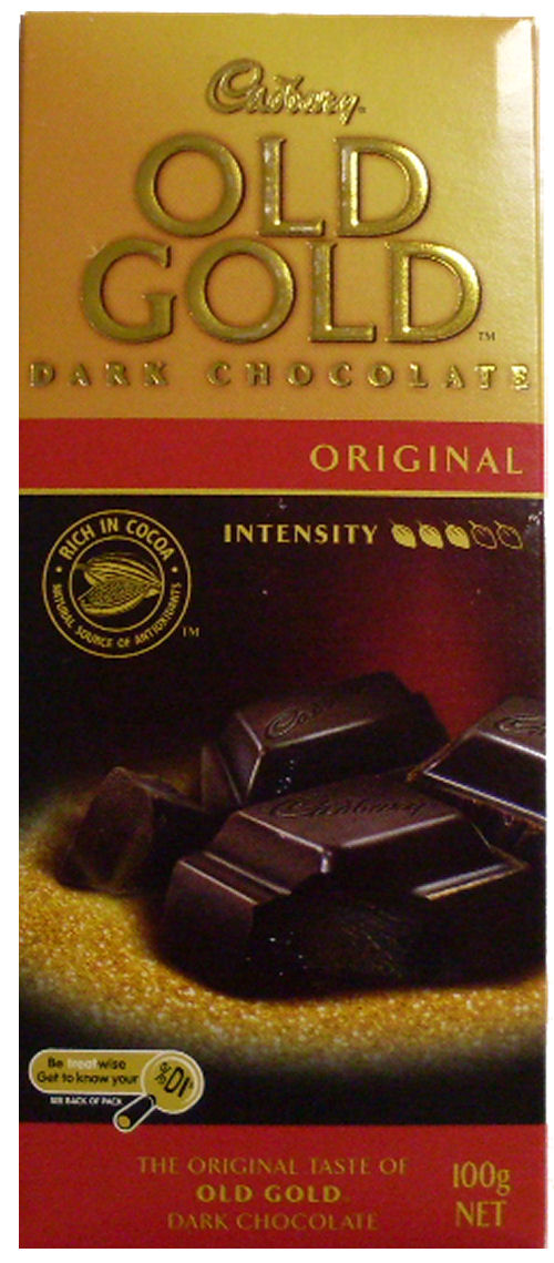 Cadbury Old Gold Dark Chocolate 100g (BB:AUG10)