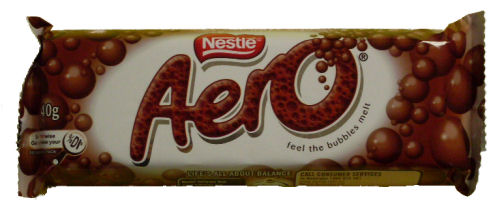 Nestle Aero Milk Chocolate Bars 40g (BB:SEP10)
