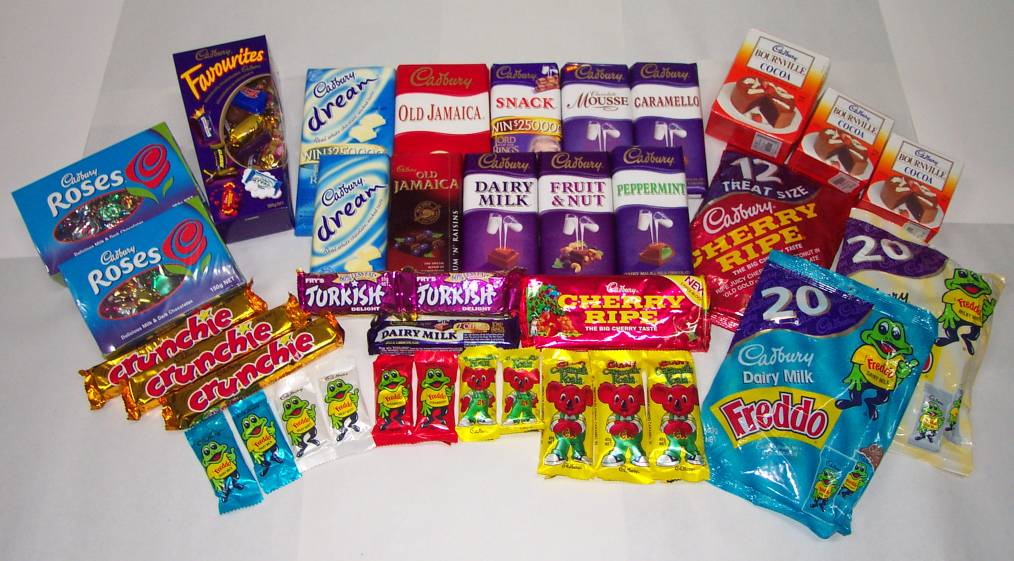 The gallery for --> Australian Candy Bars